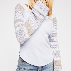 NEW FREE PEOPLE Winter Flare Sleeve Sweater XS